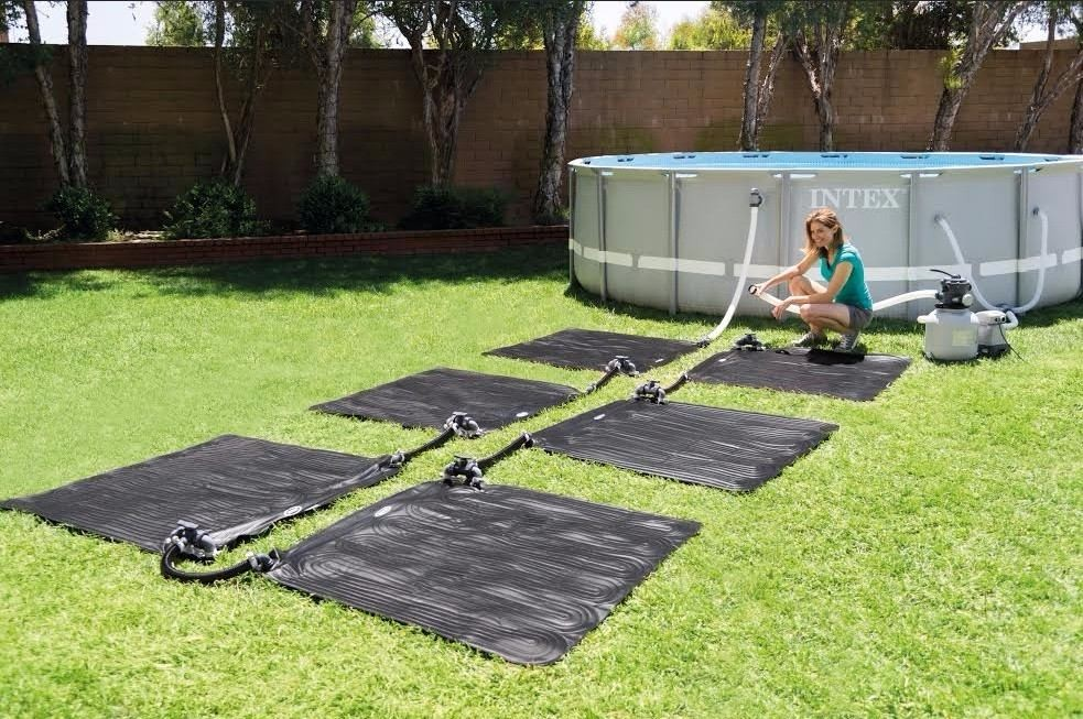 MLB tapete aquecedor solar intex p piscina intex bestway 120 cm JM