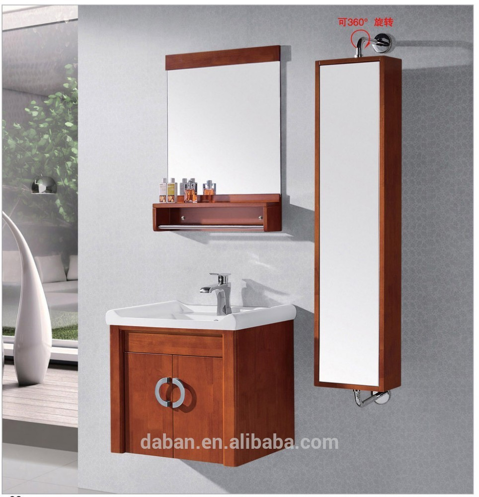 cheap wall mounted pvc small bathroom cabinet made in china