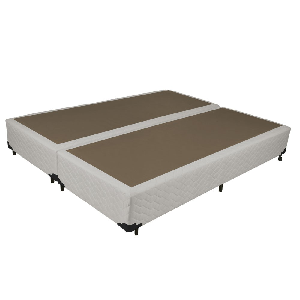 Base Box para Colchao Queen Probel 25x158x198cm Palha