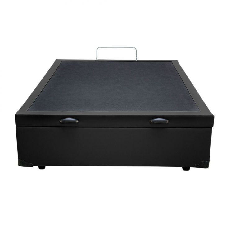 base box bau casal 46x138x188 preto