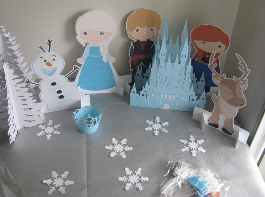 festa frozen disney