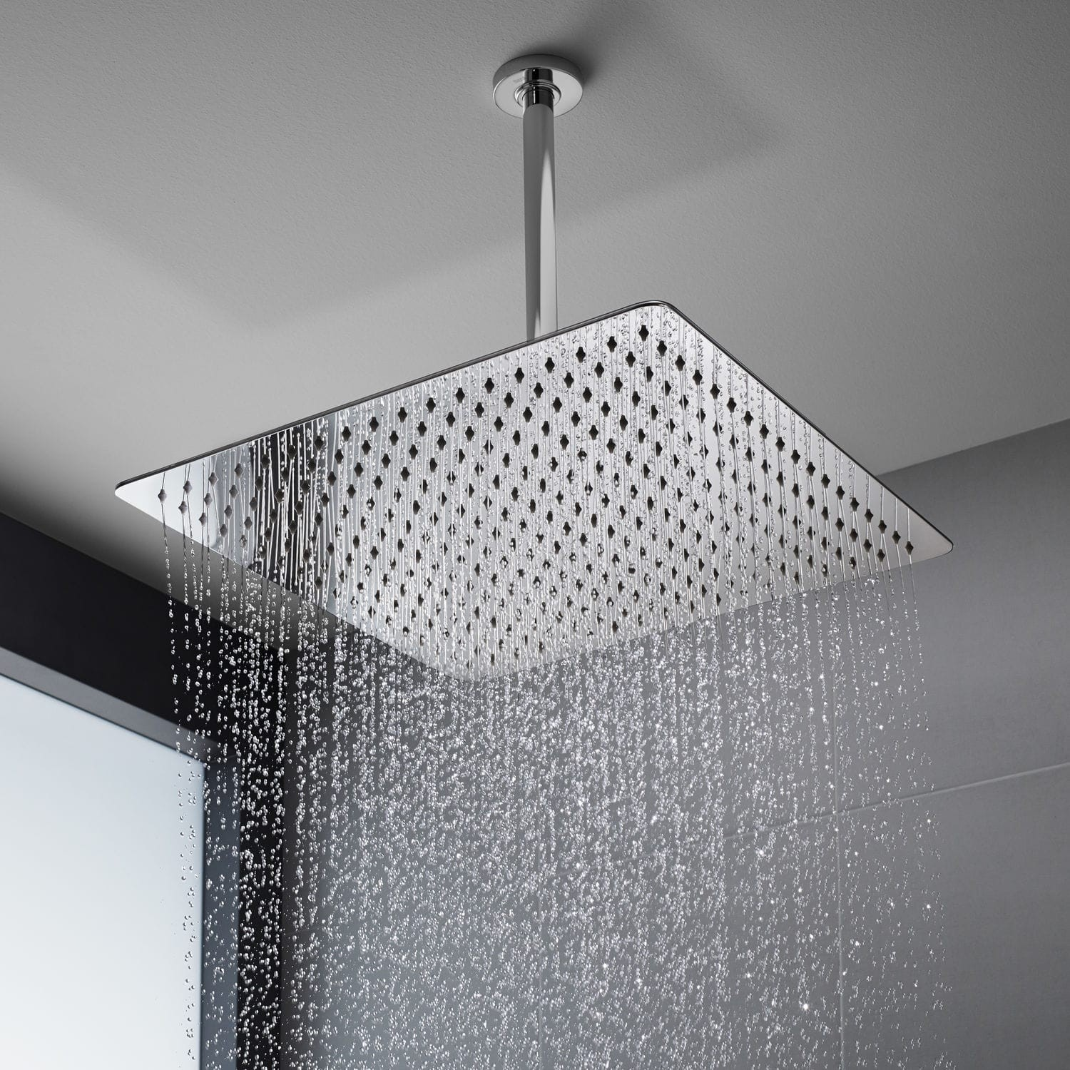 ceiling mounted shower heads