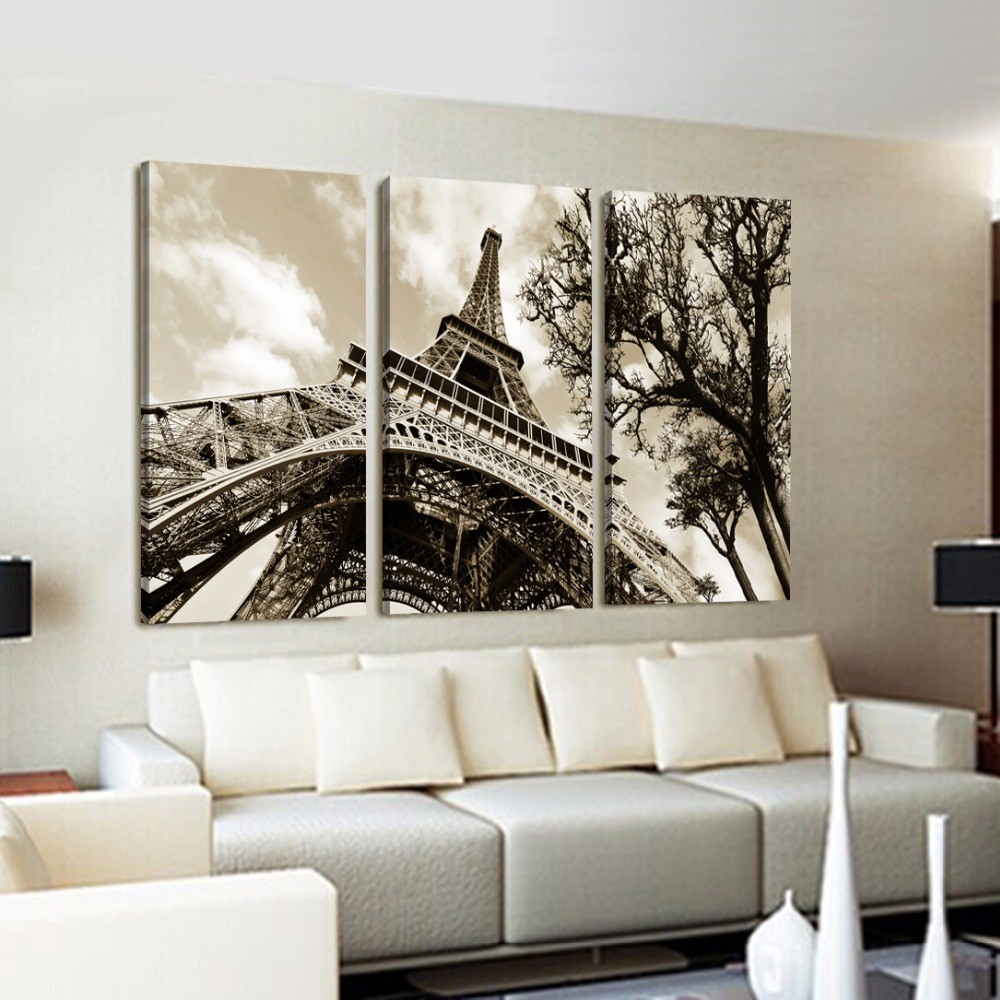 home office tools eiffel tower wall art promotion