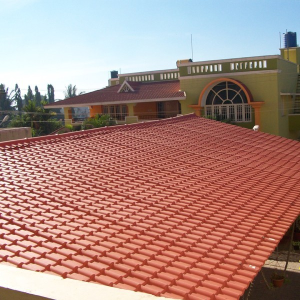 pvc plastic roofing tiles colonial