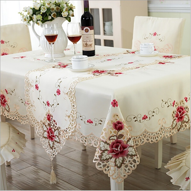 wholesale embroidered tablecloth