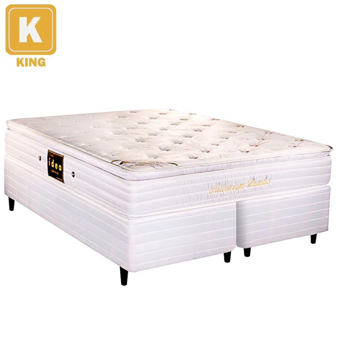 deliciosa camas box king size castor cama box king size