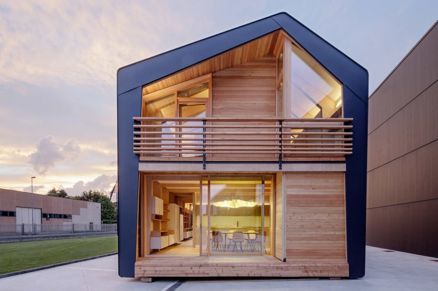 leaphome unveils sustainable super efficient frame prefab