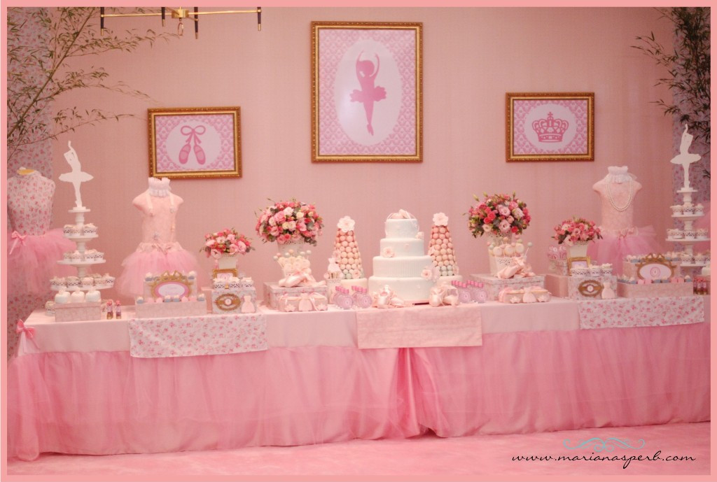 ballerina party by mariana sperb party