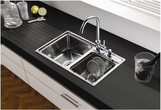 cupc ss304 hot sale in canada handmade stainless steel sink with double rectangular bowl above counter sink 7447 12