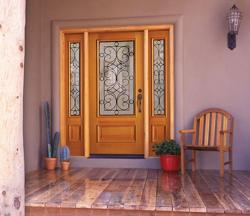 dictate your house style with fascinating exterior wood door designs
