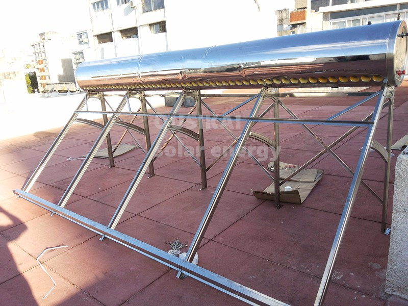 spain stainless steel solar water heater system price