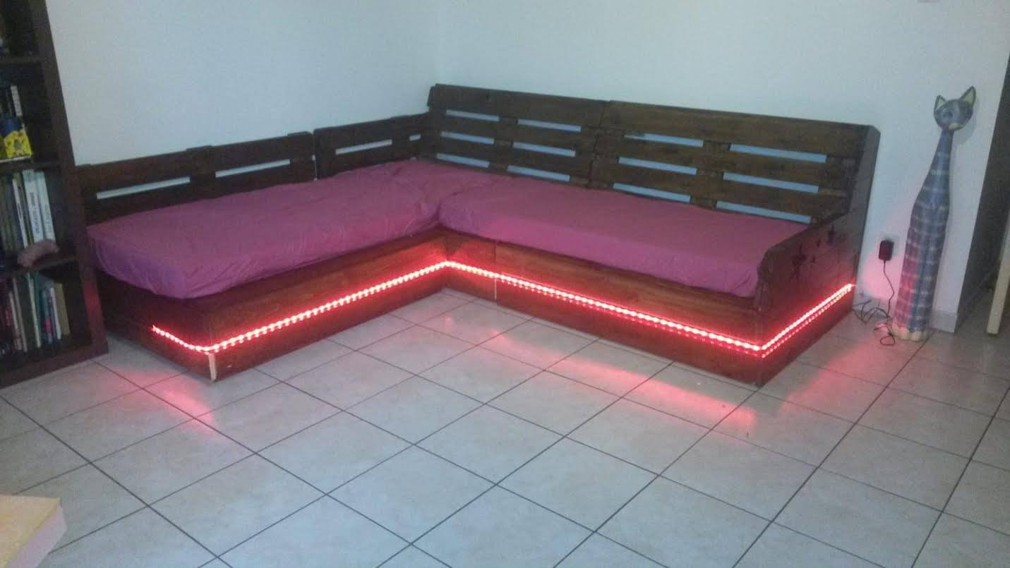 diy pallet sectional sofa coffee table