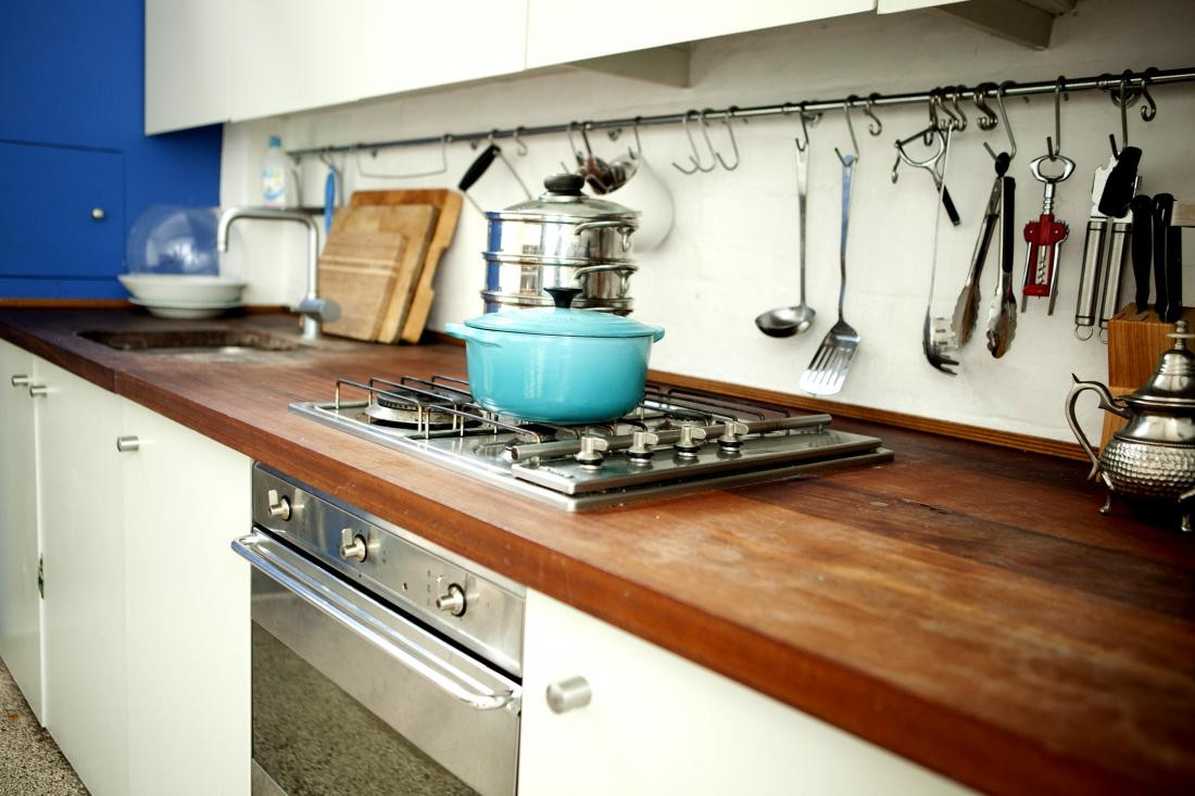 kitchen counter stove top 8