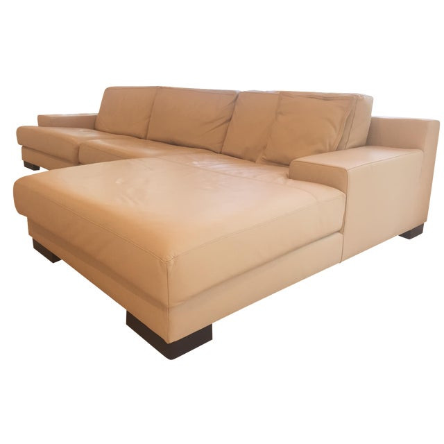 ver design cream leather armonia sofa